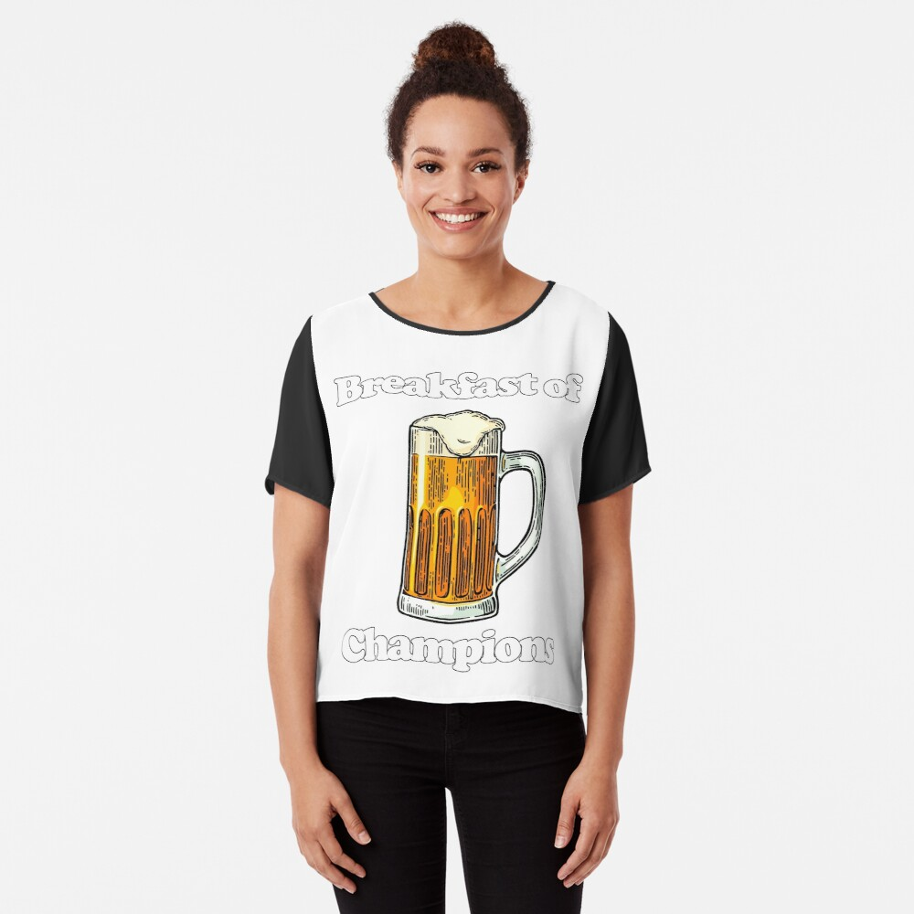 5043f8551 Beer Breakfast of Champions T-shirt