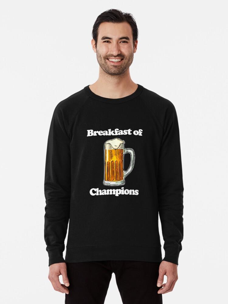 5906bd7f3 Beer Breakfast of Champions T-shirt