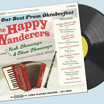 """The Happy Wanderers - Yosh & Stan Shmenge"" - Polka little fun! by vertigocreative"