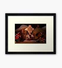 The Unseelie Court Framed Print