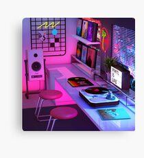 Vinyl ist Leben Leinwanddruck