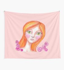 Just Rosy Wall Tapestry