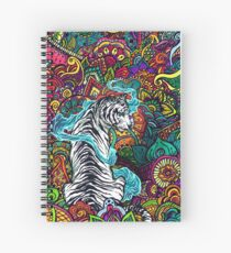 The White Tiger Spiral Notebook