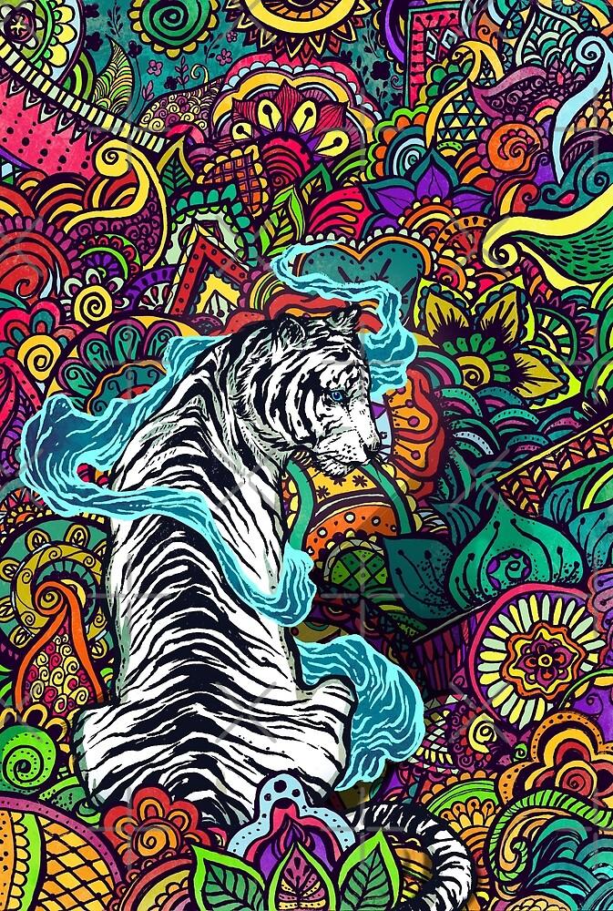 The White Tiger by Nicolae Negura