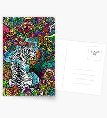 The White Tiger Postcards