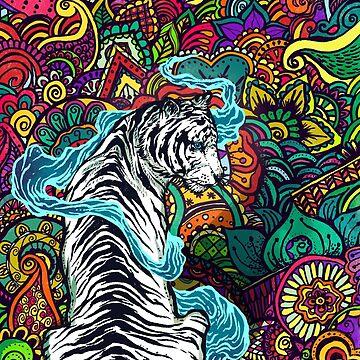 El tigre blanco de cucubaou
