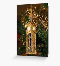 Christmas - Big Ben Greeting Card