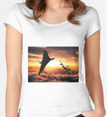 Avro Sisters  Women's Fitted Scoop T-Shirt