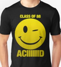 Camiseta unisex Acid house class of 88