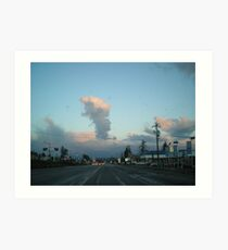 Cloud upstart Art Print