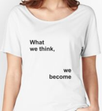 What we Women's Relaxed Fit T-Shirt