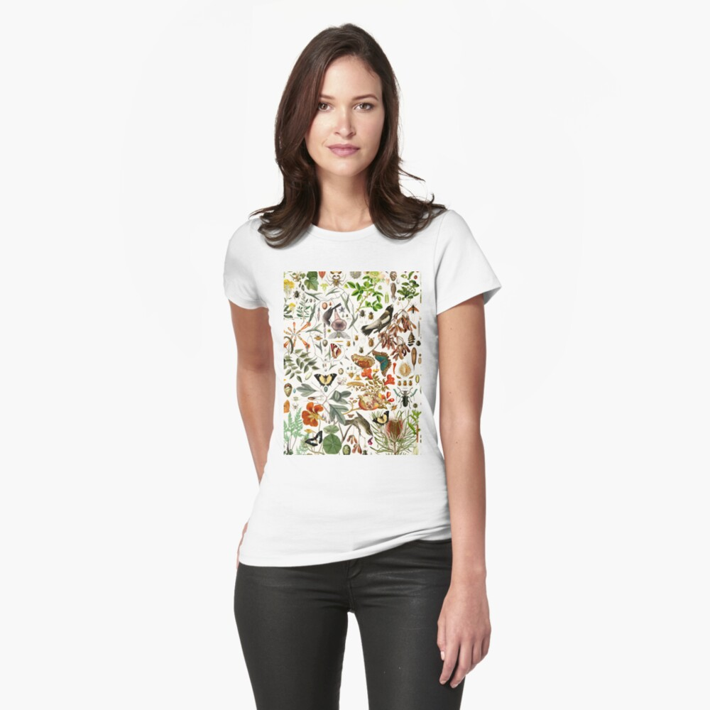 Biology 101 Fitted T-Shirt