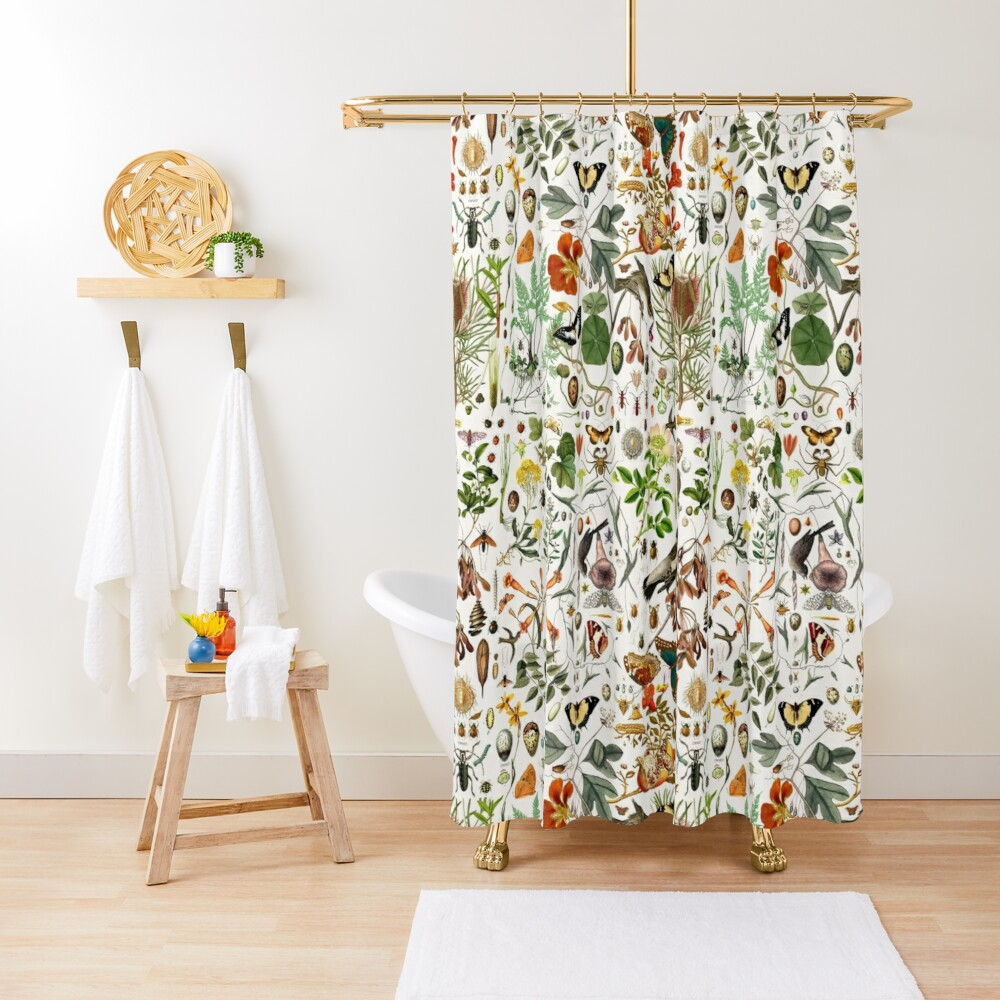 Biology 101 Shower Curtain