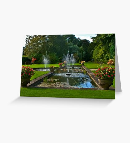 The Fountains Greeting Card