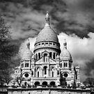Basilica of the Sacré Cœur in Montmartre, Paris by Irina-C