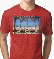 Relax at Bora Bora Tri-blend T-Shirt
