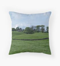 Nidderdale Head Throw Pillow