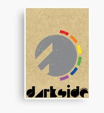 Darkside Abstraction Canvas Print