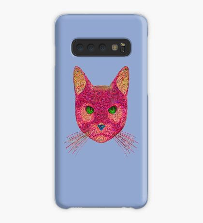 Rose Hungry Cat Case/Skin for Samsung Galaxy
