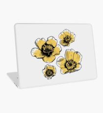 Yellow Buttercups Laptop Skin