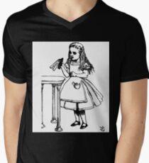 Alice don't drink that poison Mens V-Neck T-Shirt