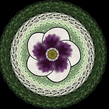 Ring around a pansy by LindasDesign