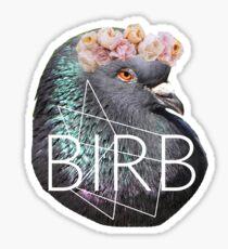 Fabulous Lt. Birb  Sticker