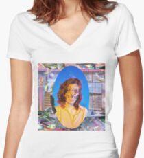 Königsprinzessin macht mein Bett ep Cover Tailliertes T-Shirt mit V-Ausschnitt