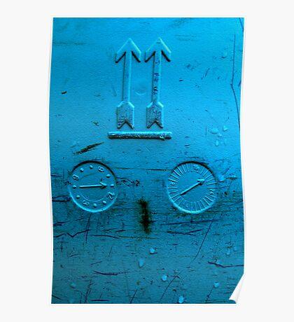 blue gauge Poster
