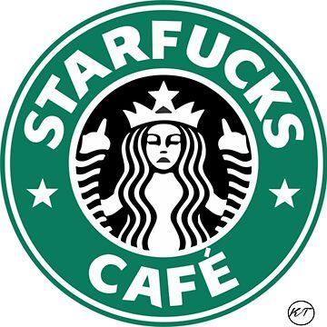 Starbucks-Star*ucks by KikkaT