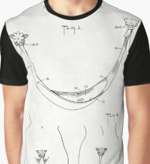 SANITARY NAPKIN patent old canvas Graphic T-Shirt