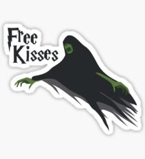 Free Kisses! Who wants one? Sticker