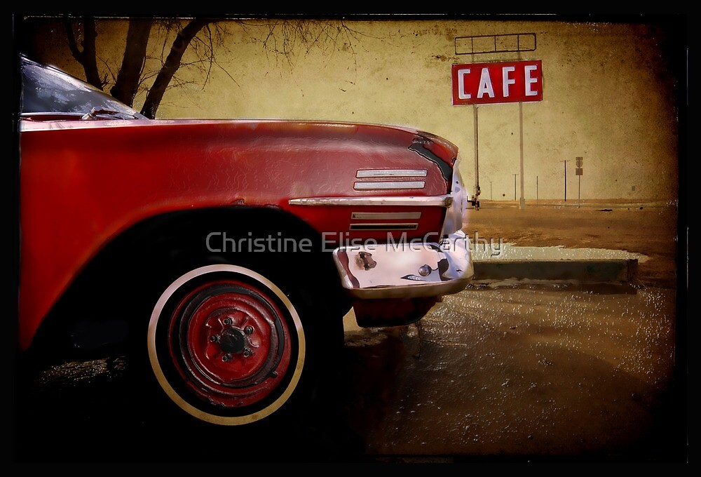 Adrian, Texas by Christine Elise McCarthy