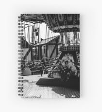 Before the Fair - Chair Ride Spiral Notebook