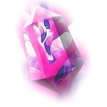 Flamingo crystal love by Johnnypointjoe