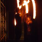 Fire Poi 1 by Steven Carpinter