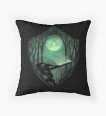 Master Sword Throw Pillow