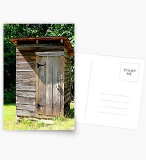 Wooden Out House Postcards