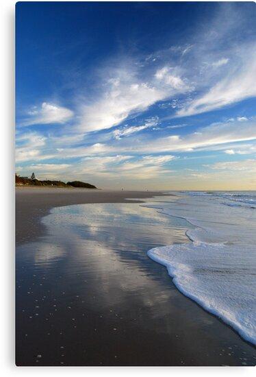 Sea, Sand & Sky ~ Bribie Island by Barbara Burkhardt