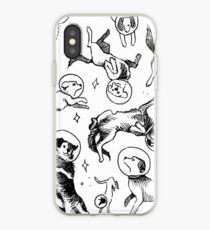 Space Hunde iPhone-Hülle & Cover