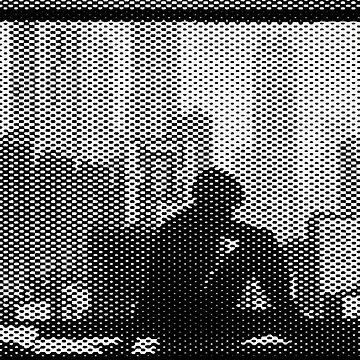 Ghost in the shell Window halftone by zerplin