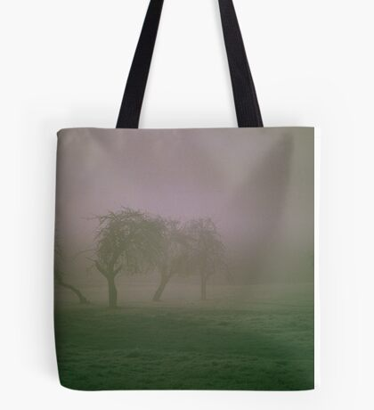 Morning Frost and Fog Tote Bag