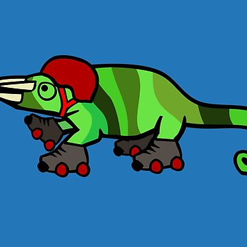 Roller Derby Chameleon by jezkemp