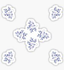 A hint of Delft Sticker