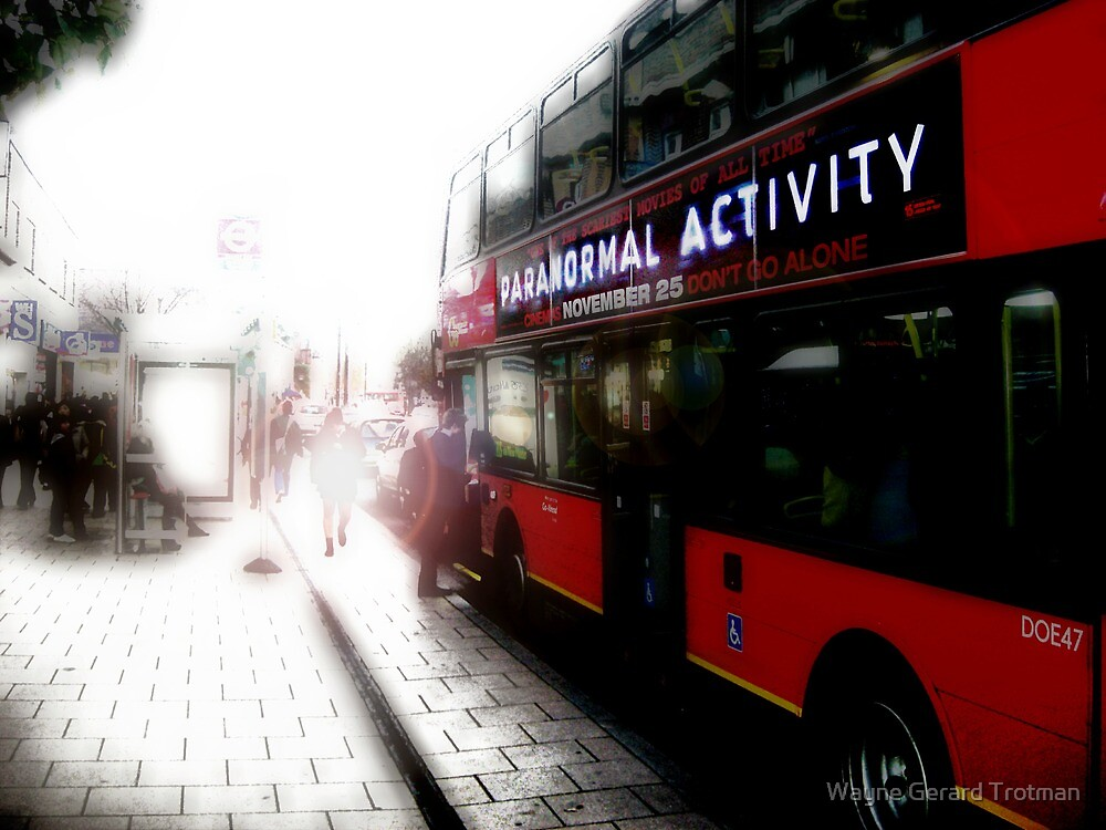 Paranormal Activity by Wayne Gerard Trotman