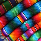 Blankets of Colour...Guatamala by graeme edwards