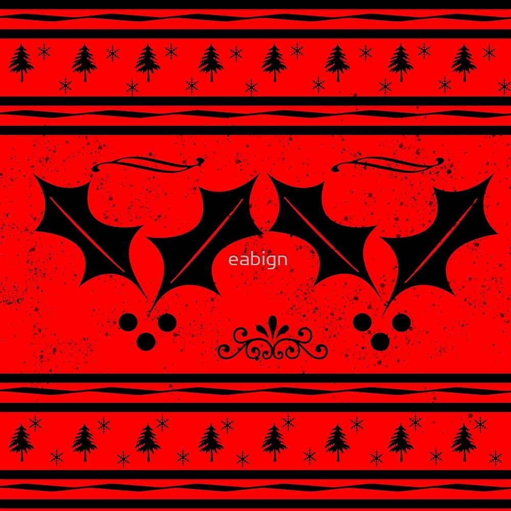 Christmas pattern by eabign