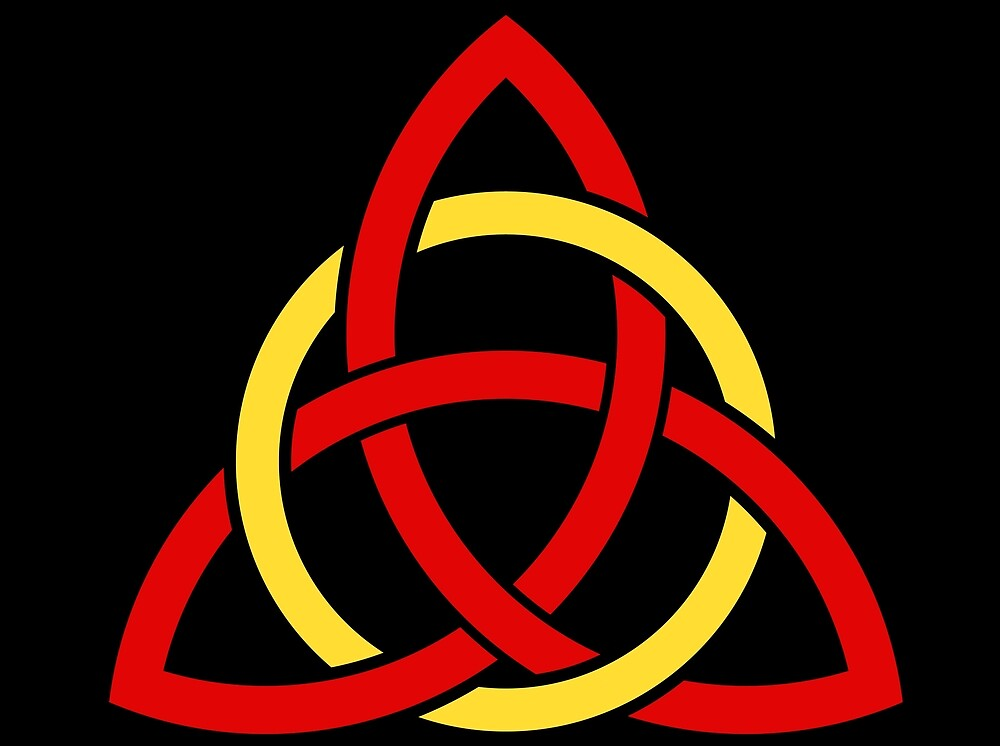 Celtic knot - Blood and Gold by agameofqueens