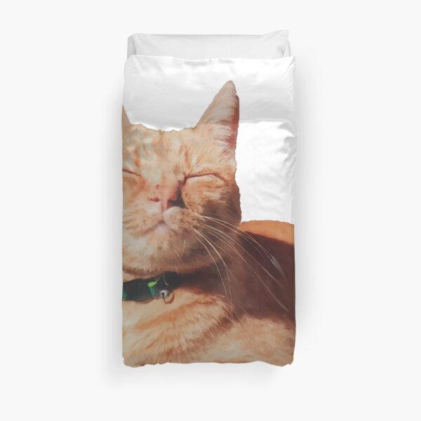 Smug Cat is Smug Duvet Cover