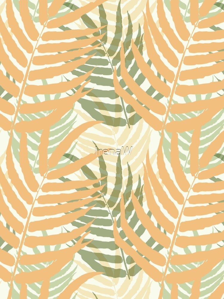 Ferns in pastel tones by IrenaW
